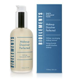 Makeup Dissolver Perfected - 27.50    Oil-free formula for eyes  Non-stinging formula  Removes all traces of makeup  Ophthalmologist tested  Used twice a day will last 5 months!