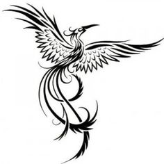 watercolor phoenix tattoo - Google Search