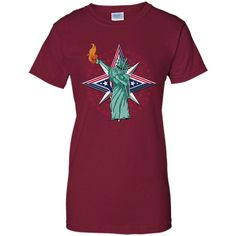 3b5f8274927d3 Statue Of Liberty Dabbing 4th Of July 2017 Star T-Shirt Science Humor