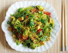 Singapore Noodles |Euphoric Vegan