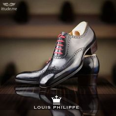 Good shoes take you to good places, come experience the range of Louis Philippe collection of formal shoes Browse here: - https://www.ittude.me/shop/men/footwear.html?manufacturer=50