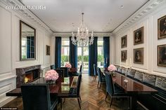 The impressive home was renovated within the last 10 years by Daniel Romualdez, the interi...