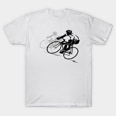 Shop I Love Cycling - Bicycle cycling t-shirts designed by VKDesigns as well as other cycling merchandise at TeePublic. Men's Shirts And Tops, Tee Shirts, Unique T Shirt Design, Cycling T Shirts, Dress Shirts For Women, Vintage Bicycles, Shirt Designs, Mens Fashion, My Love