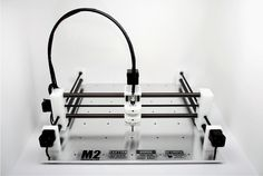 MicRo CNC is a precision fabrication system that is small enough to fit on a desktop and light enough to take anywhere.