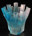 Mark Abildgaard Kiln Cast Glass sculpture