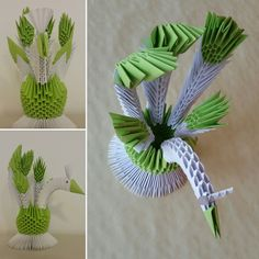 3 D, Origami, Plant Leaves, Plants, Origami Paper, Plant, Origami Art, Planets