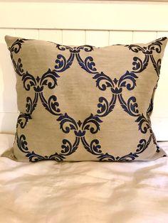 A personal favorite from my Etsy shop https://www.etsy.com/listing/550773249/midnight-blue-throw-pillows