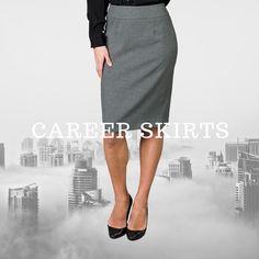 Career Uniform Skirts from Executive Apparel  Skirt Pants, Dress Skirt, Hotel Uniform, Easy Wear, Skirt Fashion, Apparel Brands, High Waisted Skirt, Career, Hospitality
