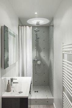 Des pav s de verre pour une douche l 39 italienne salle for Marie claire maison salle de bain