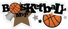 Baketball MVP SVG scrapbook title basketball svg file basketball svg cut file free svgs free svg files