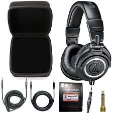 [$149.00 save 51%] Audio-Technica ATH-M50x Monitor Headphones Case and Extended Warranty #LavaHot http://www.lavahotdeals.com/us/cheap/audio-technica-ath-m50x-monitor-headphones-case-extended/190066?utm_source=pinterest&utm_medium=rss&utm_campaign=at_lavahotdealsus