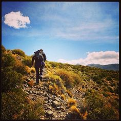 DAY 44 - Hiking on a lovely sunny day, Los Antiguos, Argentina