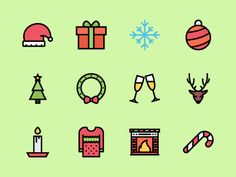 The Christmas Icons 100 by last spark #christmas #icon #xmas