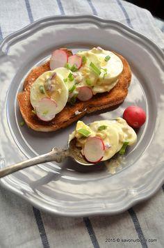 Salata de oua cu maioneza si ceapa (12)