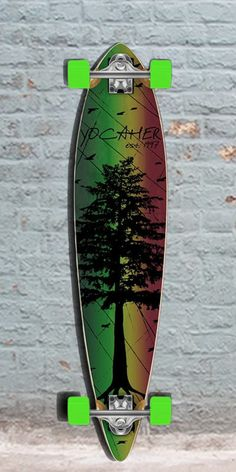 Longboards USA - Punked Pintail In The Pines Rasta 40 inches Longboard, $107.00 (http://longboardsusa.com/punked-pintail-in-the-pines-rasta-40-inches-longboard/)