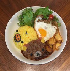 リラックマとタワーレコードカフェがコラボ!東京&大阪でリラックマ茶屋の名物「だんごカツ丼」の写真1