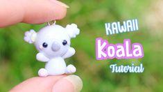 Kawaii Koala Charm Polymer Clay Tutorial