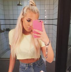 Why we're loving the 'hun' hair trend (oh hey Lottie Tomlinson ya babe) http://on.sugarsca.pe/1DmLwRU
