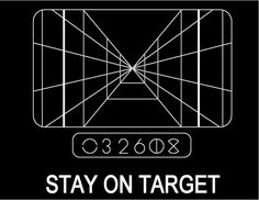 Stay On Target | #starwars
