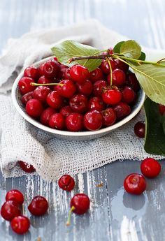 followthewestwind:  Cherry from my gaden by Julicious on Flickr.
