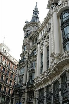 Canalejas square Madrid spain