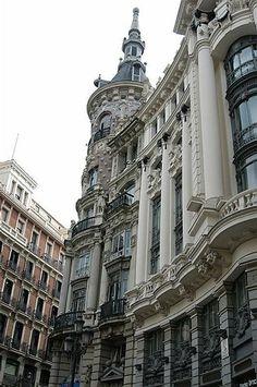 Canalejas square Madrid spain