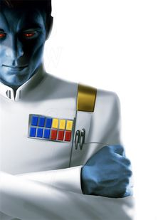 Cover concept of the book Thrawn