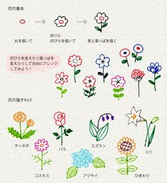 Ideas drawing ideas doodles flower for 2019 Doodle Drawings, Doodle Art, Easy Drawings, Kawaii Doodles, Cute Doodles, Pen Doodles, Sketch Note, Pen Illustration, Japanese Drawings