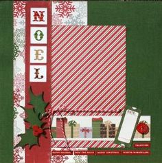 Christmas Scrapbook Layout                                                                                                                                                                                 More