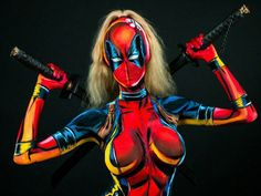 Kay Pike's body pain cosplay : theCHIVE