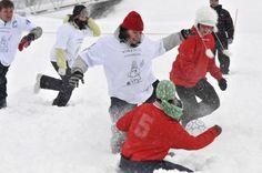 Deep Snow soccer championships. Umpihankifutiksen MM-kisat.