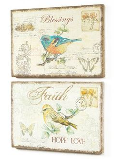 4 Wall Plaques by Gordon Companies, Inc. $129.00. Please refer to SKU# ATR25768677 when you inquire.. Brand Name: Gordon Companies, Inc Mfg#: 30689618. Shipping Weight: 7.00 lbs. This product may be prohibited inbound shipment to your destination.. Picture may wrongfully represent. Please read title and description thoroughly.. 4 Wall Plaques/''Blessings'' and ''Faith Hope Love''/13.5''H x 19''W/made of burlap and wood/you get two of each style