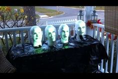 Disney's Haunted Mansion on Your Porch for Halloween