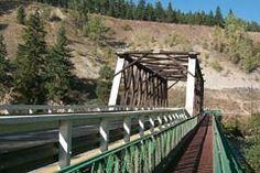 Okanagan-Shuswap Visitor and Vacation Tips Garden Bridge, Outdoor Structures, River, Vacation, Tips, Vacations, Rivers, Holiday, Holidays