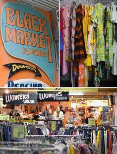 Black Market Clothing, Toronto, Canada. #thrift #travel