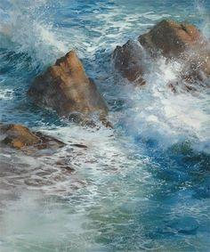 Water Dance,  Cindy Baron, watercolor