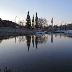 Kaunis aamu Kuopiossa - Helsinkiin #Kuopio