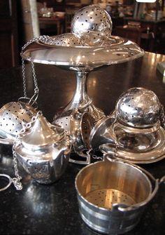 *Silver Tea Infusers*. www.teacampaign.ca Source: see below.
