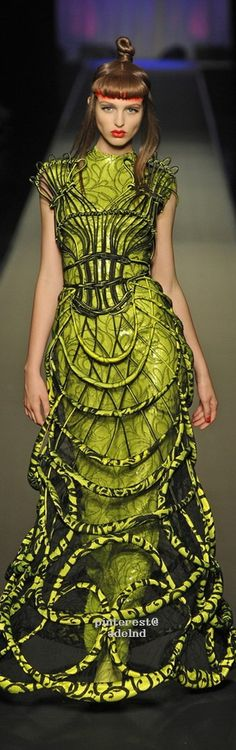 Jean Paul Gaultier, Autumn/Winter 2008, Couture  with <3 from JDzigner www.jdzigner.com