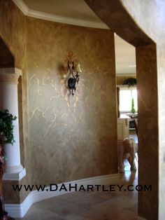 Faux Wall For Kitchen French Country Finishes Walls