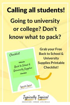 044e6fe30ff Ultimate Back to School and University Supplies Checklist