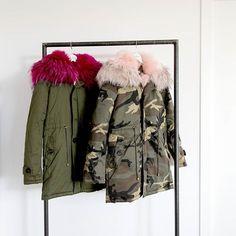 Jueves = ¡¡Novedades!! #algobonito #nuevacoleccion #nuevo #moda #fashion #style #new #ropa #abrigo #camuflaje #pelo #pink #pinkfur #pinkfurjacket #tendencias #fall #otoño #newcollection #shopping #novedades #timeforshopping