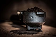 #blur #caffeine #close up #coffee #coffee grounds #coffee maker #equipment #focus #ground coffee