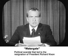 President Nixon announcing his resignation because of the Watergate scandal - 1974 --I wrote my last university exam that day and came home and watched Nixon on TV Us History, American History, Our President, American Presidents, Thats The Way, Before Us, Back In The Day, Historical Photos, Childhood Memories