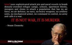 ~ Noam Chomsky...I love you Noam...You speak the TRUTH!!!...