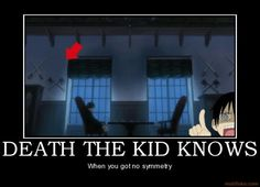 kid always noticing missing symmetry even in black butler XD #soul eater #black butler