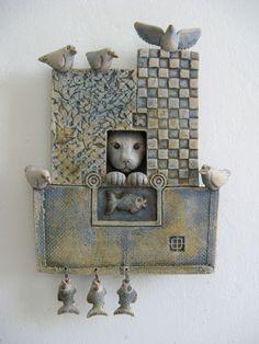 Cat Window by Alasdair Neil