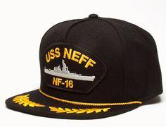 e4e9536113f USS Neff Snapback Cap by NEFF