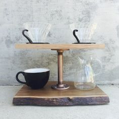 Pour Over Coffee Stand - Maddox Pour Over Station