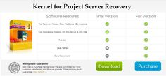 Evaluate Free Trial Version Kernel for Project Server